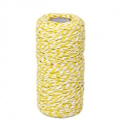 Twine -  All Italian Mood - bianco e giallo