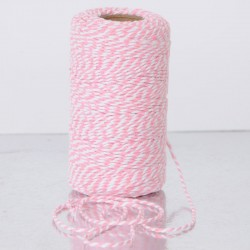 Twine -  All Italian Mood - bianco e rosa