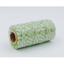 Twine -  All Italian Mood - bianco e verde acido