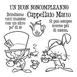 Timbro Clear-Mi - Impronte D'Autore - Cappellaio Matto