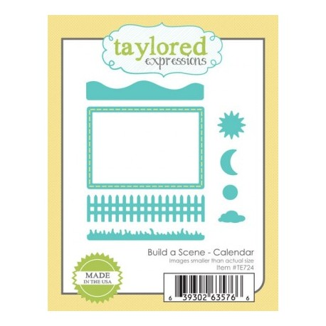 Fustelle Taylored Expressions - Build a scene - Calendar