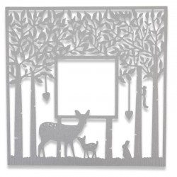 Fustella Sizzix Thinlits - Forest Frame