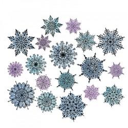 Fustella Sizzix Thinlits T.Holtz - Swirly snowflakes