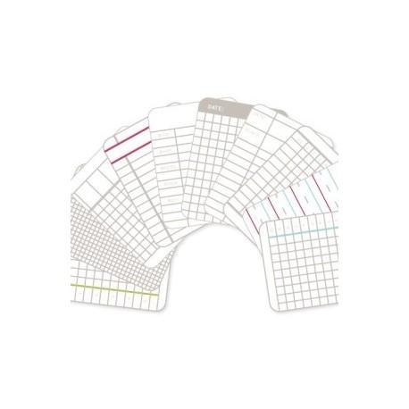 Kit 100 carte - Becky Higgins - Ladger cards 3x4