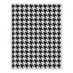 Embossing Folder Tim Holtz - Houndstooth