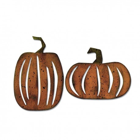 Fustella Sizzix Bigz T.Holtz - Pumpkin Patch