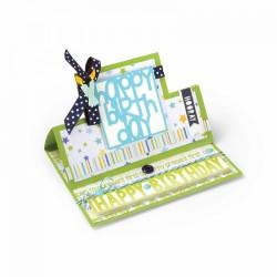 Fustella Sizzix Framelits - Card, Square Stand-Ups