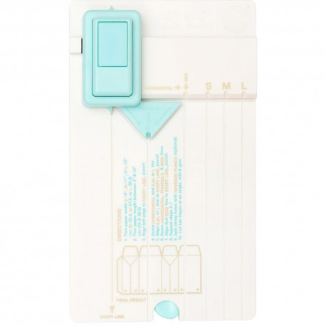 Gift bag punch board - We R Memory Keepers
