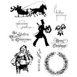 Timbro Cling Tim Holtz - Mini Holidays 5