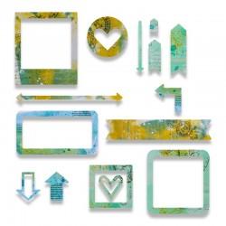 Fustella Sizzix Thinlits - Frames