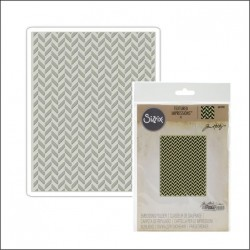 Embossing Folder Tim Holtz - Herringbone