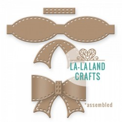 Fustella La-La Land Crafts - Stitched Bow