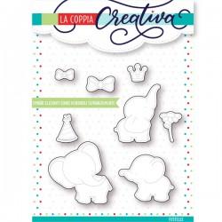 Fustella La Coppia Creativa - Elefanti