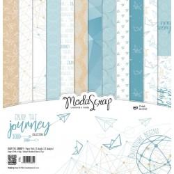 Kit carte ModaScrap - ENJOY THE JOURNEY