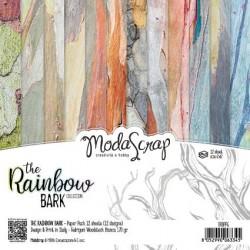 Pad Carte 15x15cm ModaScrap - THE RAINBOW BARK