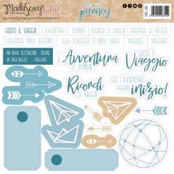 Stickers ModaScrap - ENJOY THE JOURNEY