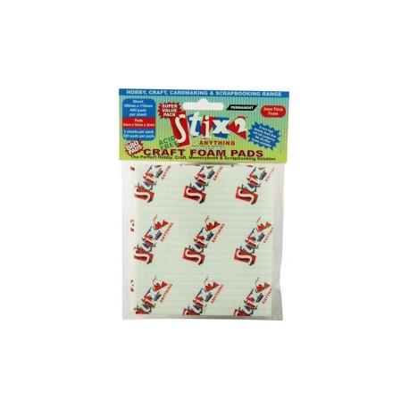 Craft foam pads 5x5x3 mm - Stix2   440 quadretti