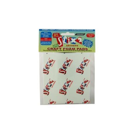 Craft foam pads 5x5x3 mm - 440 quadretti - Stix2
