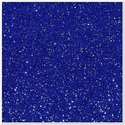 Gomma crepla glitterata adesiva - Blu - 20x30 cm