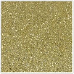 Gomma crepla glitterata adesiva - Oro chiaro - 20x30 cm