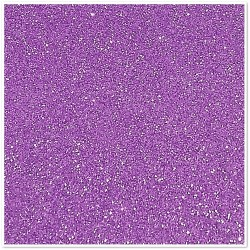 Gomma crepla glitterata adesiva - Lilla - 20x30 cm