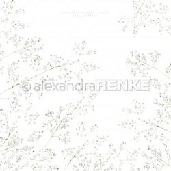 Alexandra Renke - Collezione Spring - Designpaper 'baby's breath'