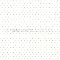 Alexandra Renke - Designpaper 'Little stars gold'