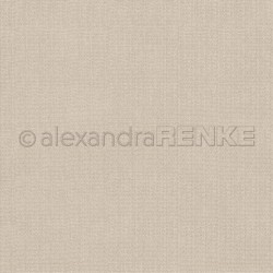 Alexandra Renke - Designpaper 'Light brown knitted'
