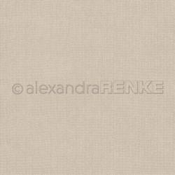 Alexandra Renke - Designpaper 'Light brown knitted'
