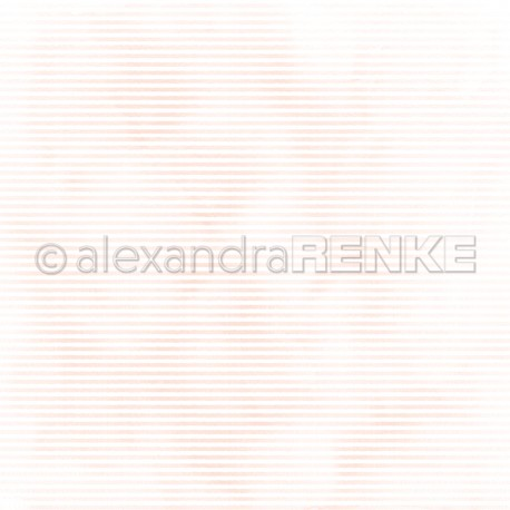 Alexandra Renke - Designpaper 'Mimi rose stripes'