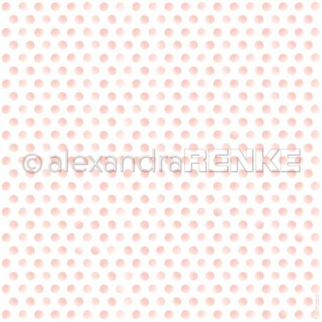 Alexandra Renke - Designpaper 'pink dots'