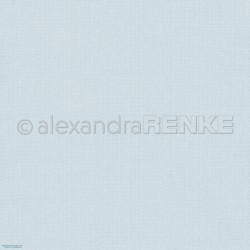 Alexandra Renke - Designpaper 'Light blue knitted'