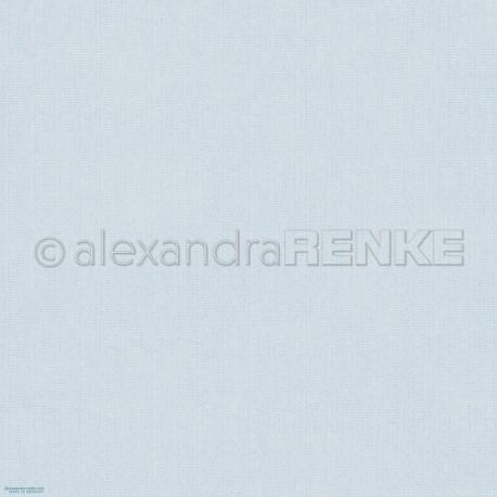 Alexandra Renke - Designpaper 'Light blue knitted'