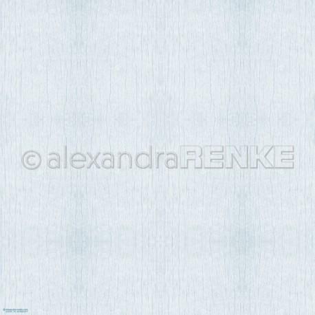 Alexandra Renke - Designpaper 'Ligth blue wood structure'