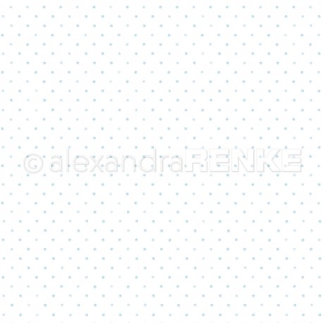 Alexandra Renke - Designpaper 'Little dots light blue'