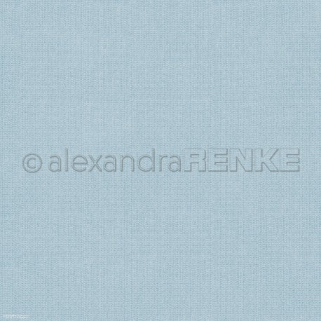 Alexandra Renke - Designpaper 'Bleu knitted'