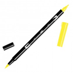 Pennarello Tombow Dual Brush - Process Yellow