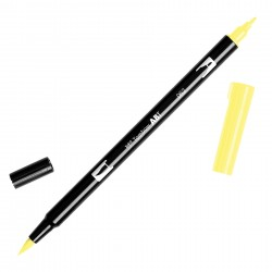 Pennarello Tombow Dual Brush - Pale Yellow