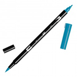 Pennarello Tombow Dual Brush - Process Blue