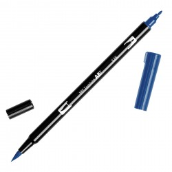 Pennarello Tombow Dual Brush - Navy Blue