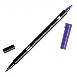 Pennarello Tombow Dual Brush - Violet