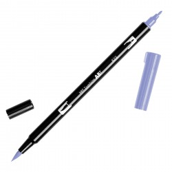 Pennarello Tombow Dual Brush - Purple Sage