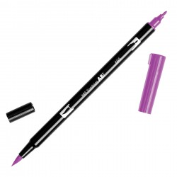 Pennarello Tombow Dual Brush - Purple