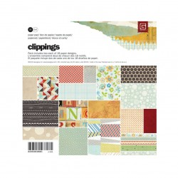 Basic Grey 6x6 Paper Pad - Clippings