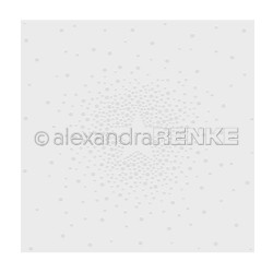 Embossing Folder 'Falling Star within the center' - Alexandra Renke