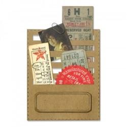 Fustella Sizzix Thinlits T. Holtz - Stitched Slots