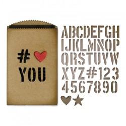 Fustella Sizzix Thinlits T. Holtz - Gift Card Bag