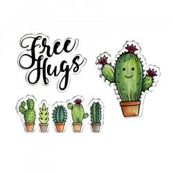 Fustella e Timbro Sizzix - Stamps - Sending Hugs