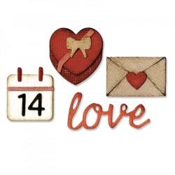 Fustella Sizzix Sidekick Side Tim Holtz - Order Set - Valentine