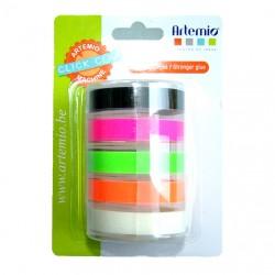 Ricariche per Etichettatrice Artemio - Modello Click Click - colori fluo
